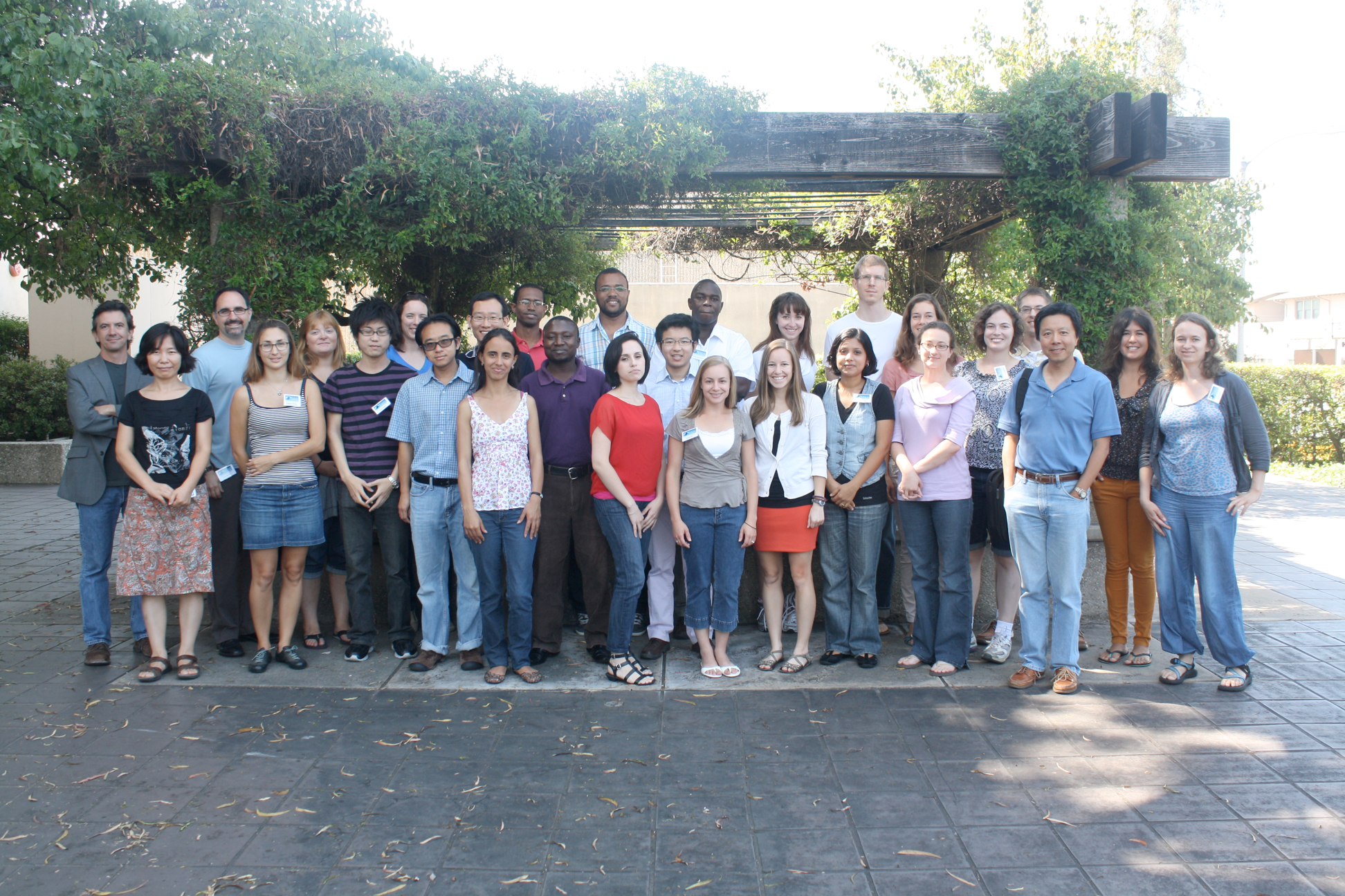 Summer school class of 2012 group photo