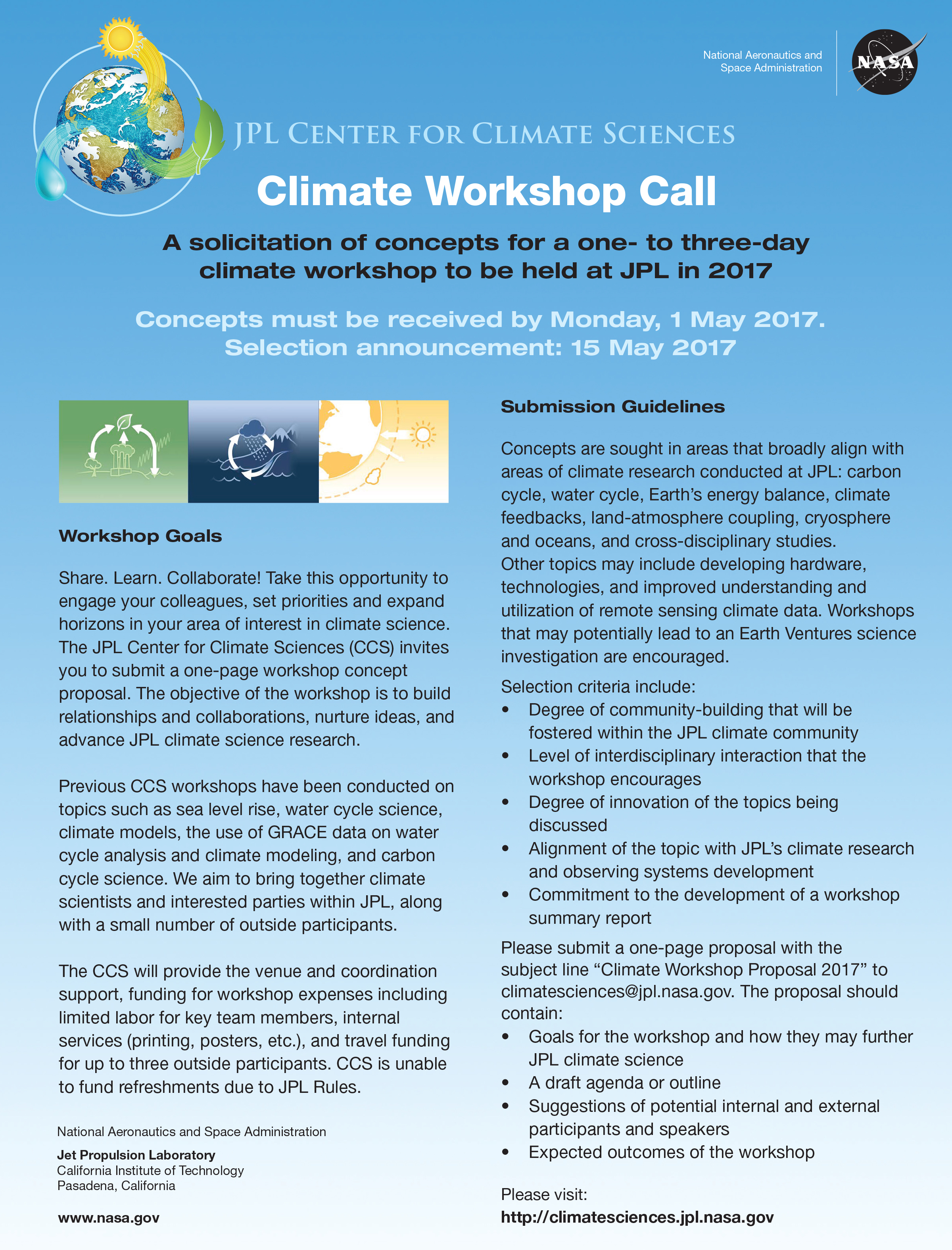 Climate Workshop Call