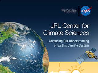 Center for Climate Sciences - banner stand.