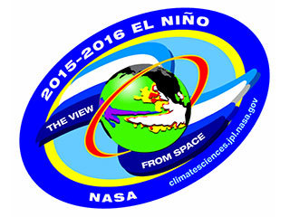 Center for Climate Sciences: 2015-2016 El Nino decal